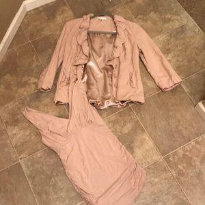 CAbi set-blazer and matching tank